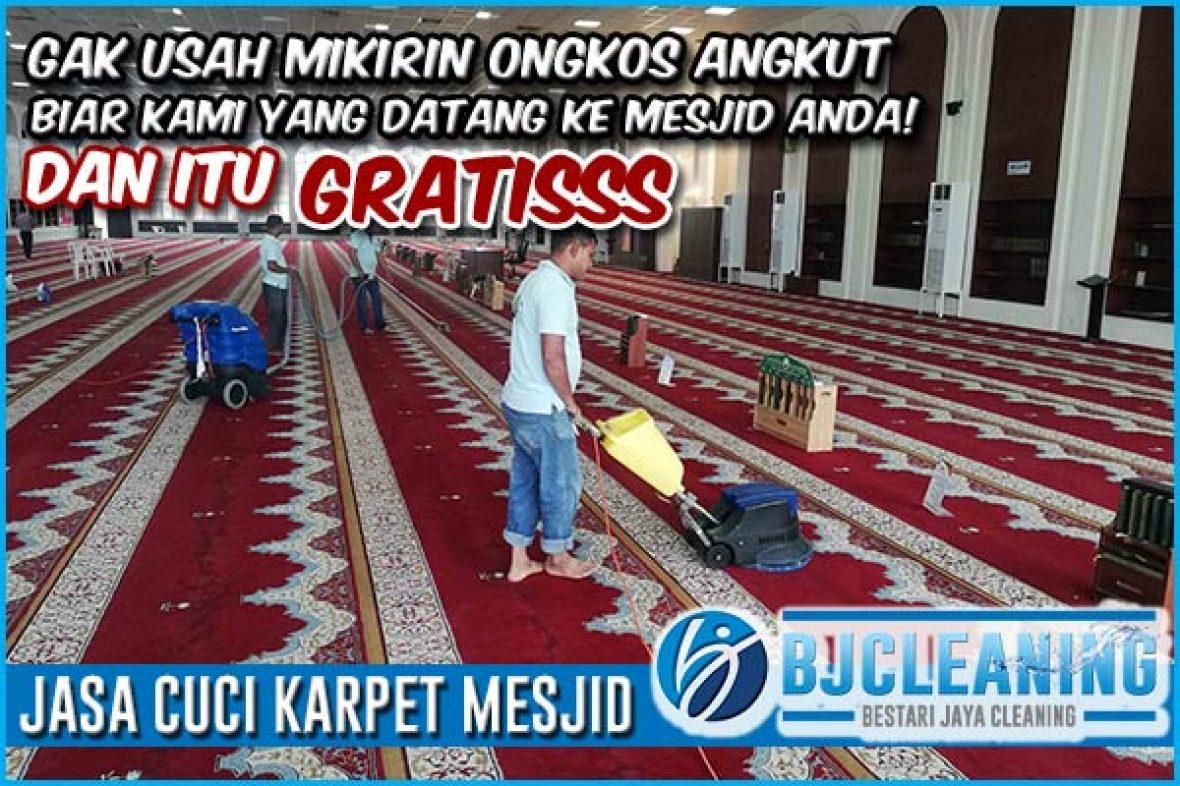 Jasa Cuci Karpet Mesjid